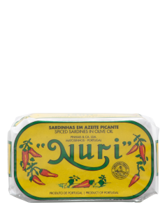 Nuri Spiced Sardines in Olive Oil 125cl